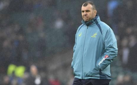 FILE: Wallabies coach Michael Cheika. Picture: AFP