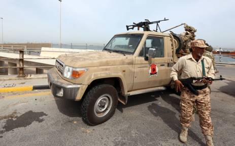 FILE: Libyan security forces deploy in the capital Tripoli. Picture: AFP