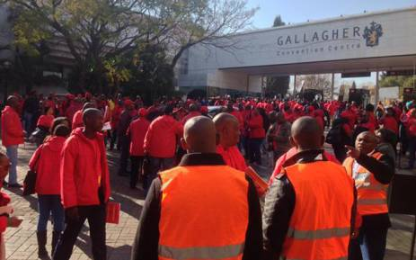 Cosatu members at the union's special national congress held at Gallagher Convention Centre on 13 July 2015. Picture: Govan Whittles/EWN.