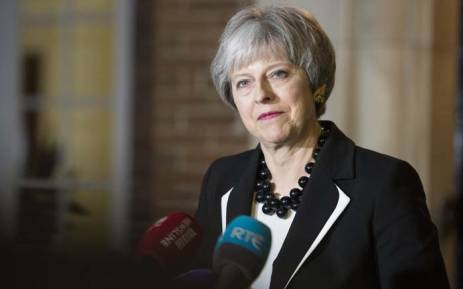 Britain's Prime Minister Theresa May. Picture: @10DowningStreet/Twitter.