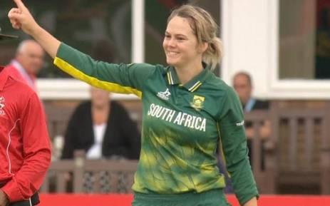 Proteas Women's captain Dane van Niekerk. Picture: Supplied.