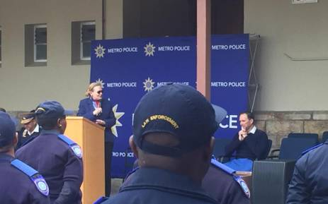 Western Cape Premier Helen Zille has announced 71 rail enforcement officers will be deployed to Cape Town's rail network in October. Picture: @brettherron/Twitter