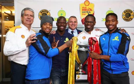 The Shell Helix Cup is launched at FNB Stadium. Picture: Supplied