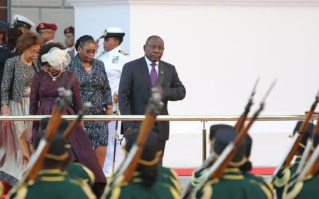 FILE: President Cyril Ramaphosa outside Parliament before the State of the Nation Address on 16 February 2018. Picture: Christa Eybers/EWN.