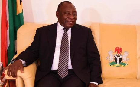 President Cyril Ramaphosa in Nigerian. Picture: GCIS.