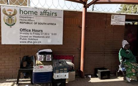 Department of Home affairs. Picture: Sethembiso Zulu/ EWN