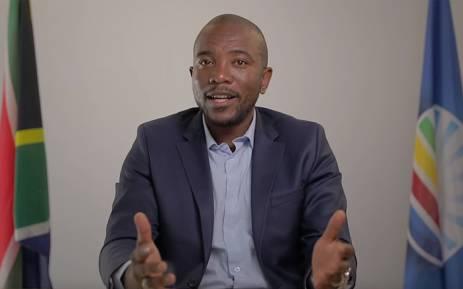 A screengrab of DA leader Mmusi Maimane. Picture: YouTube
