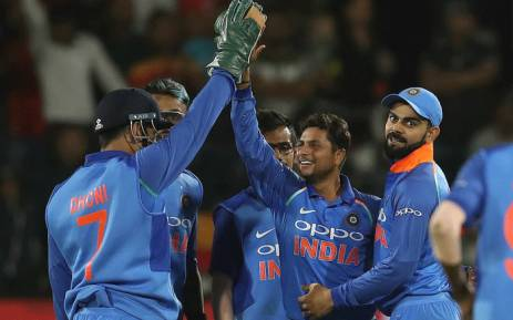 India scored its first bilateral ODI series win in South Africa. Picture: @BCCI/Twitter