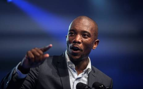 FILE: Mmusi Maimane, leader of South Africa's main opposition Democratic Alliance. Picture: AFP.