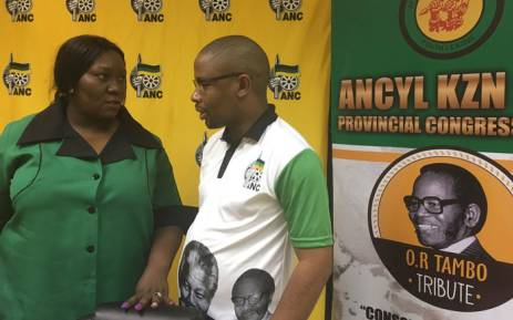Leaders from the KZN youth and women's leagues will brief the media shortly after Tuesday's judgment in PMB. Picture: Ziyanda Ngcobo/EWN.