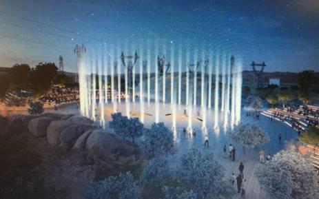 Lonmin's design plan for a memorial park in Marikana. Picture: EWN.