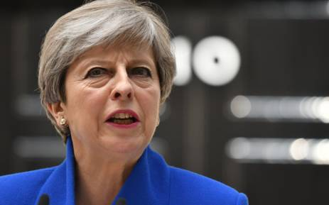 FILE: British Prime Minister Theresa May. Picture: AFP.