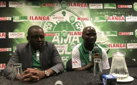 Veteran striker Siyabonga Nomvethe announces his retirement from professional football on 14 September 2018. Picture: @AmaZuluFootball/Twitter