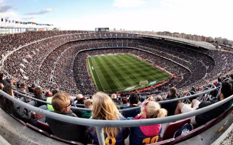 A general view of Camp Nou. Picture: @FCBarcelona/Twitter.