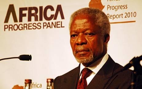 Kofi Annan, Chair of the Africa Progress Panel. Picture: EWN