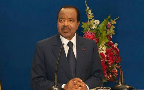 Cameroonian President Paul Biya. Picture: facebook.com