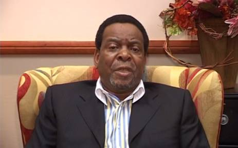 A screengrab picture of Zulu King, Goodwill Zwelithini.