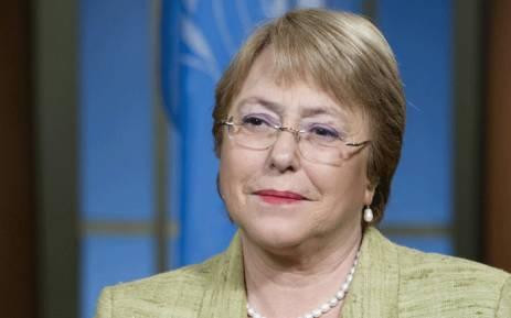 Michelle Bachelet. Picture: @UN/Twitter.