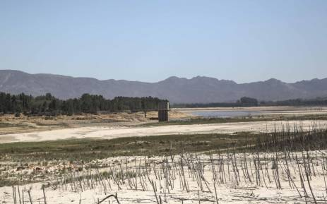 The Department of Water and Sanitation conducted a site visit at the Theewaterskloof Dam on 22 February 2018. Picture: Cindy Archillies/EWN