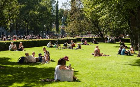 People seen at a park in Helsinki, Finland. Picture: pixabay.com