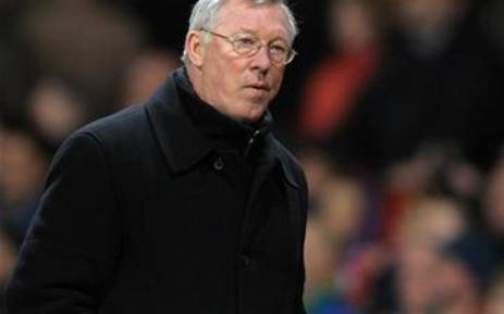FILE: Manchester United manager Sir Alex Ferguson. Picture: AFP