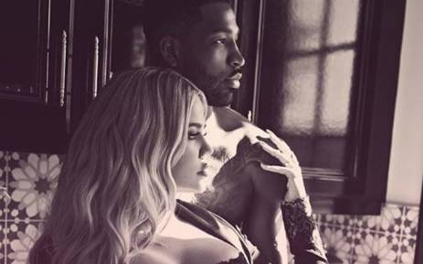 Khloe Kardashian and Tristan Thompson. Picture: @khloekardashian/Instagram.