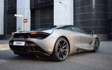 McLaren 720S. Picture: Jacob Moshokoa/EWN.