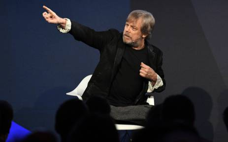 FILE: Mark Hamill speaks on stage at the ONWARD17 Conference on 2 November 2017 in New York City. Picture: AFP