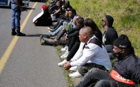 FILE: A group of artists and entertainers blocked the roadway earlier and staged a mini-concert on the N3 in KZN on Wednesday, 2 September 2020. Picture: Supplied