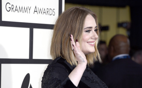 Adele arrives for the 58th annual Grammy Awards held at the Staples Center in Los Angeles, California, USA, 15 February 2016. EPA/PAUL BUCK