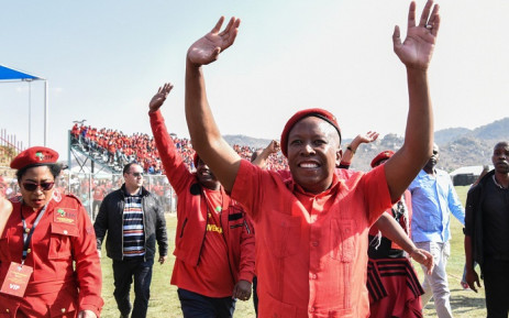 FILE: EFF leader Julius Malema at the party's sixth birthday celebration at Kanyamazane Stadium in Mpumalanga on Saturday 27 July 2019. Picture: @EFFSouthAfrica/Twitter