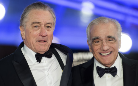 US actor Robert De Niro (L) and US film director Martin Scorsese (R), arrive at the Marrakech International Film festival, on December 1, 2018 in the city of Marrakesh. Picture: AFP.