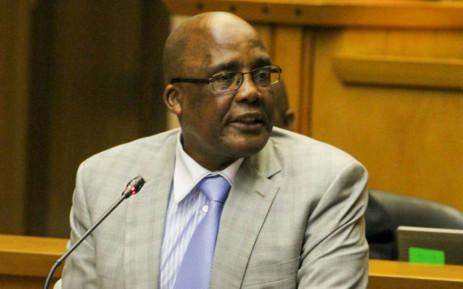Home Affairs Minister Aaron Motsoaledi. Picture: @HomeAffairsSA/Twitter