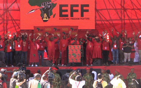 FILE: The EFF says it will bridge the gap between the poor and the rich.Picture Kgothatso Mogale/EWN