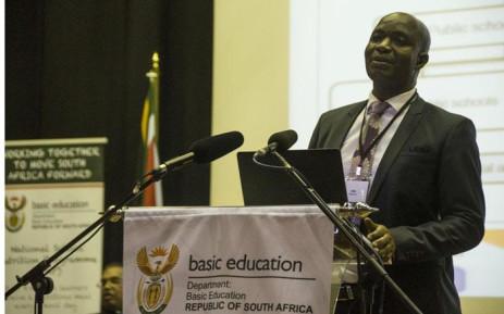 FILE: Basic Education director-general Mathanzima Mweli. Picture: Ihsaan Haffejee/EWN.