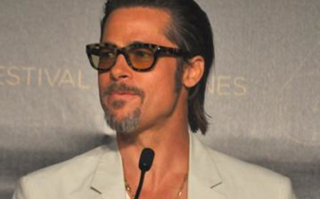 Brad Pitt at the Cannes Film Festival on 16 May 2011. Picture: Nadia Neophytou/EWN