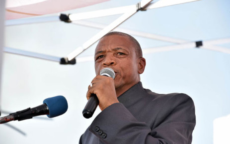 Premier of the North West Province Supra Mahumapelo. Picture: GCIS.