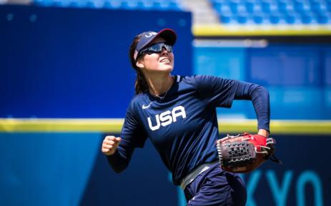 USA's national softball player Janie Reed. Tokyo Olympics sees the return of softball. Picture: @USASoftball/Twitter.