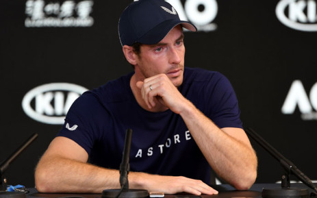 British tennis player Andy Murray. Picture: AFP