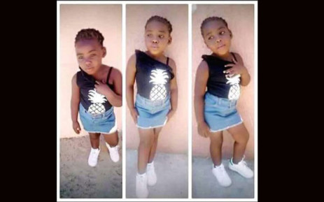 Uyathandwa Stuurman disappeared while playing at her grandparents' home in Lambatha Close on Monday. Picture: Supplied