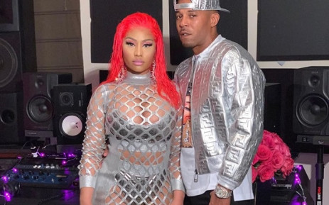 Nicki Minaj and husband Kenneth Petty. Picture: Nickiminaj/Facebook