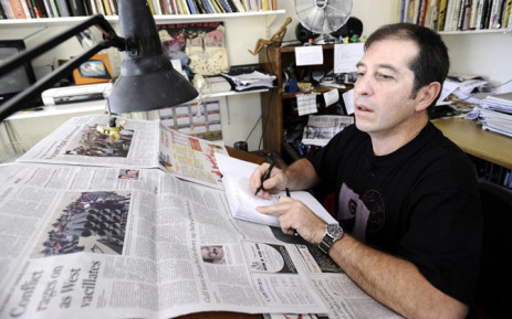 Political cartoonist Jonathan Shapiro, better known as Zapiro. Picture: AFP