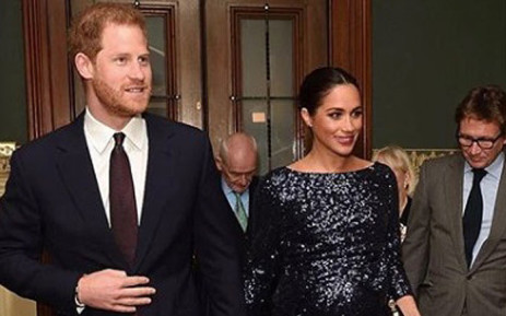 The Duke and Duchess of Sussex. Picture: @kensingtonfamily/instagram