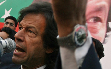 FILE:Pakistani cricketer-turned politician and opposition leader Imran Khan is leading the anti-government protests. Picture: AFP.