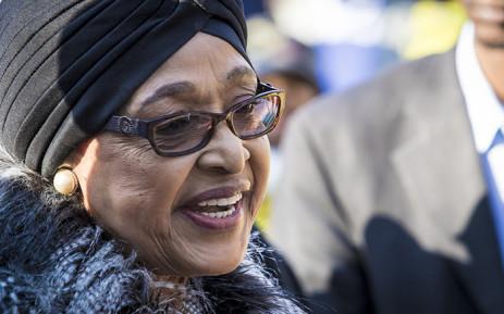 Winnie Madikizela-Mandela at her home in Soweto. Picture: Thomas Holder/EWN