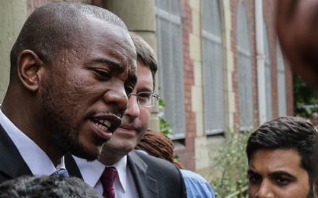 DA Leader Mmusi Maimane. Picture: Thomas Holder/EWN.