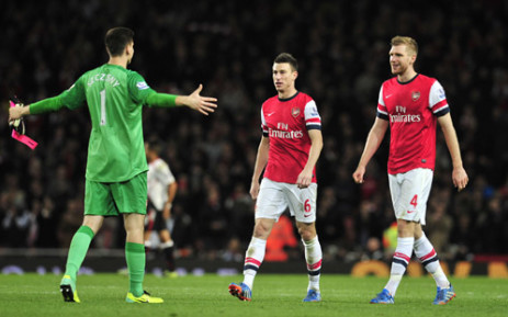 FILE: Arsenal remain on top of the EPL log following their victory on Saturday 18 January 2014 against Fulham. Picture: AFP.
