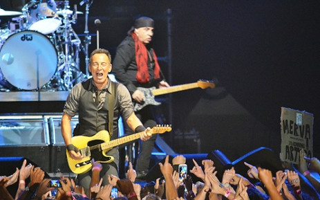 Bruce Springsteen and the E Street Band perform their first ever show in South Africa at the Bellville Velodrome in Cape Town on 26 January 2014. Picture: Aletta Gardner/EWN
