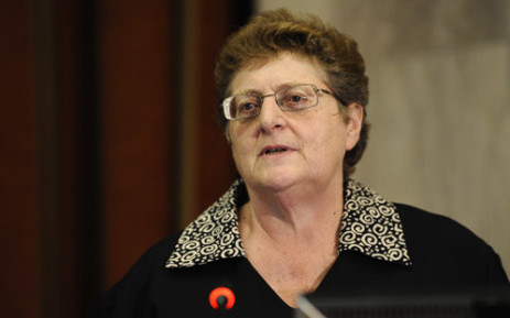 SA Reserve Bank Governor Gill Marcus. Picture: AFP.