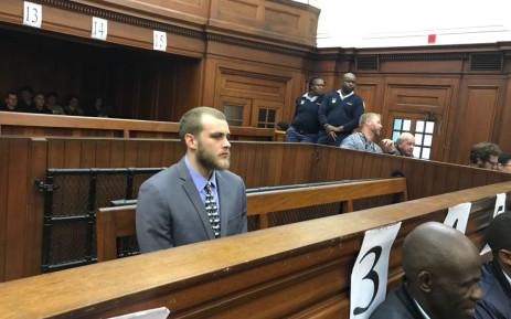 Convicted murderer Henri van Breda. Picture: Cindy Archillies/EWN